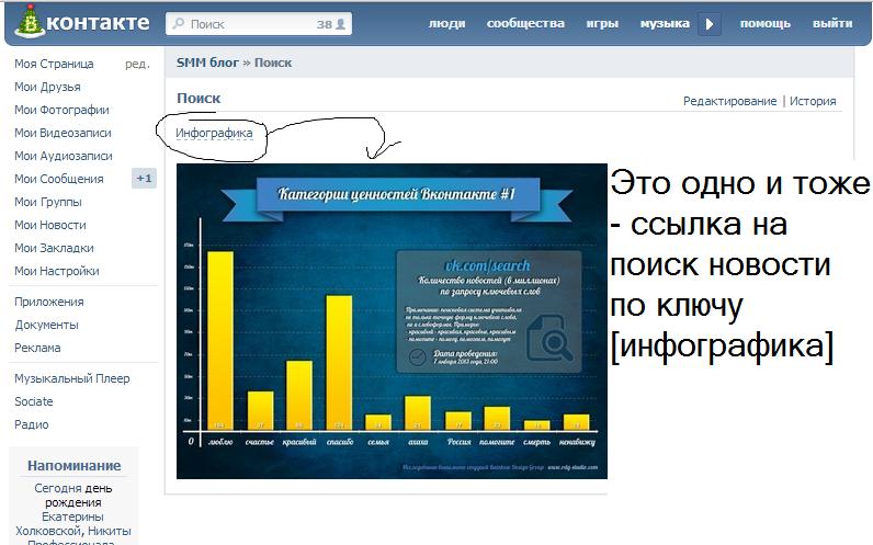 Ссылка-картинка в Wiki VK